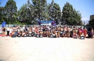 Aydın Büyükşehir Belediyesi Onlarca Çocuğa Yüzme...
