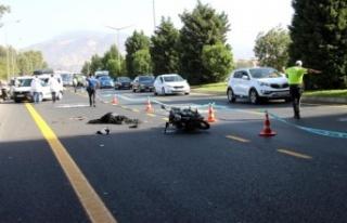 Efeler'deki kazada Çineli Erhan Özel hayatı kaybetti
