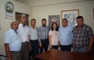 Milletvekili Rıza Posacı ÇMK'yı ziyaret etti
