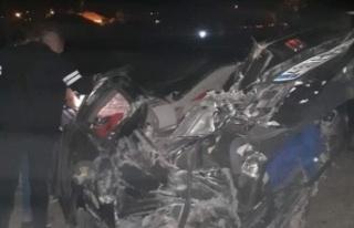 Çine'de jandarma karakol komutanı Vural Şen kazada...