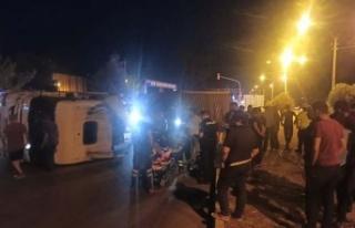 Çine'de kazası; 1 kişi yaralı