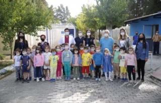 Çocuklardan Hayvanları Koruma Günü'nde Aydın...