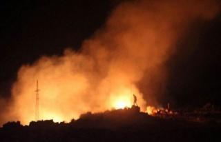 Afyon'daki patlamadan 25 eve ateş düştü