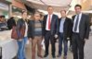 AK Parti'li Mustafa Oğurlu, Çine'yi ziyaret etti