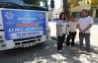 Aydın Büyükşehir Belediyesi Hopa'yı Unutmadı