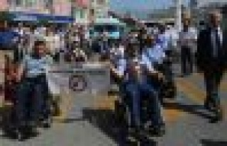 Aydın Büyükşehir Belediyesi'nin Engelliler Haftası...