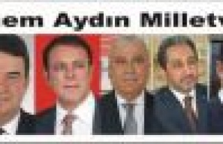 Aydın'da,25. Dönem Seçim sonuçları