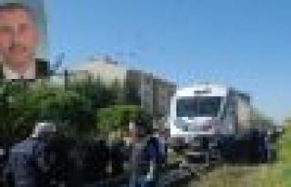 Aydın´da tren kazası 1 ölü