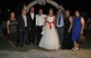 Ayten ve Ufuk evlendi