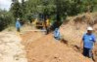 Bozdoğan'da Alt Yapı Çalışmalar Hızla Sürüyor