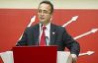 CHP Genel Başkan Yardımcısı Bülent Tezcan'dan...