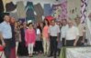 Çine Halk Eğitim Merkezi Yılsonu Sergisi Açtı