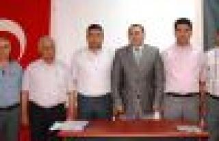 Çine KHGB'de mevcut yönetim tekrar seçildi