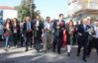 Çine'de AK Partililer Sevgi Yürüyüşünde buluştu