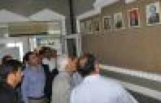 Eski Bakan Sezgin, Başkan Dinçer'i ziyaret etti