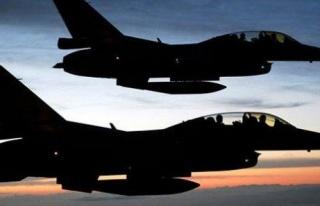 F-16'lar Bingöl dağlarını bombaladı