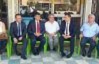 Feyzioğlu, Yörük ailesine taziye ziyaretinde bulundu
