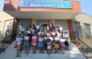 Kültür Merkezi Öğrencilerine Katılım Belgesi
