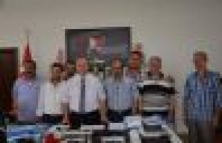 Manavlar Odası, Özakcan'ı Ziyaret Etti
