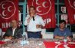 MHP Aydın Milletvekili Adayı Hüseyin Karagöz Çine'de...