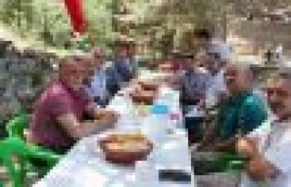 MHP Teşkilatı Şarlan'da bir araya geldi