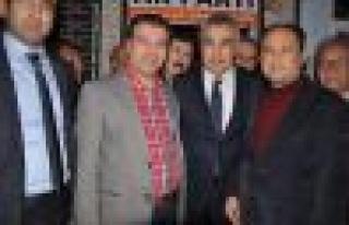 Çine Teşkilatı, Mustafa Savaş'ı coşkuyla karşıladı