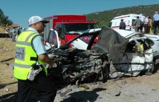 Nikah yolunda kaza: 3 ölü, 2 yaralı