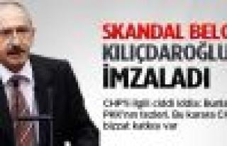 Skandal belgenin altında Kılıçdaroğlu'nun da...