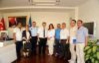 Tüm Yerel-Sen'den Başkan Çerçioğlu'na Ziyaret