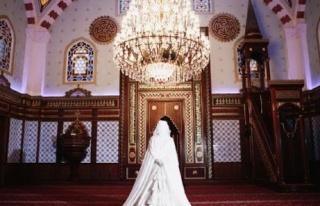 Yeni moda düğün fotoğrafları