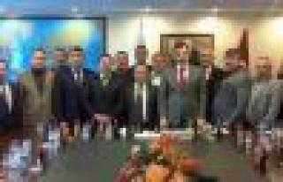 Ziraat Odası Başkanları Ankara'ya çıkarma yaptı...