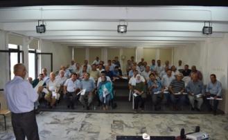 Çine'de, Muhtarlara Eğitim Toplantısı