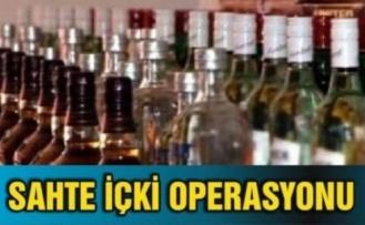 Çine'de Kaçak İçki Operasyonu
