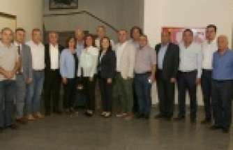CHP'li Yöneticilerden Başkan Çerçioğlu'na Ziyaret