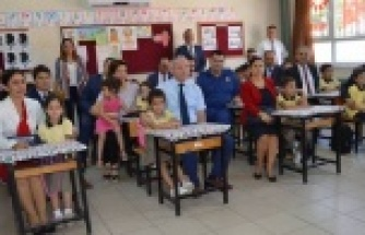 Çine'de Ders Zili Çaldı