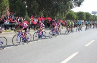 Bisiklet Turu Çine'de Coşkuyla Karşılandı