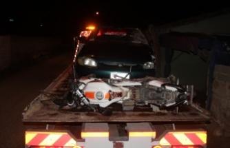 Çine'de Otomobil ile Motosiklet Çarpıştı: 2 Yaralı