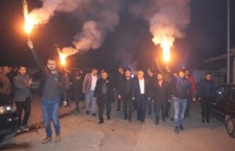 Cumhur İttifakı'nın Coşkusu Çine'yi Sokak Sokak Sarıyor!