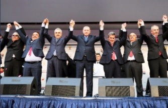 Cumhurbaşkanı Recep Tayyip Erdoğan Aydın'da