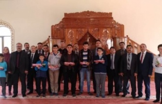 Kur'an-ı Kerim'i Güzel Okuma Yarışması Yapıldı