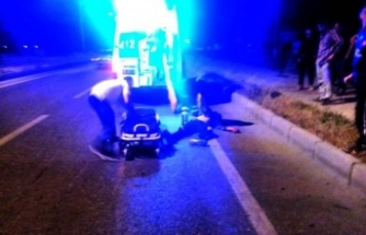 Çine'de Tek Taraflı Motosiklet Kazası: 1 Yaralı