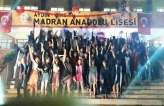Çine Madran Anadolu Lisesi'nden 87 Öğrenci Mezun Oldu