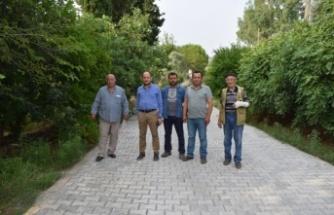 Çine'de, YİKOB'nın Yol Hizmeti Devam Ediyor