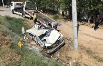 Çine'de Tek Taraflı Kaza: 3 Yaralı