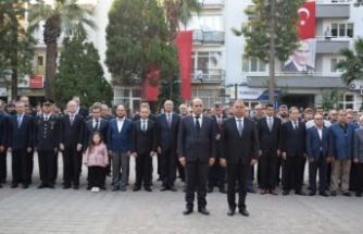 Atatürk, ebediyete intikalinin 81. yılında Çine'de anıldı