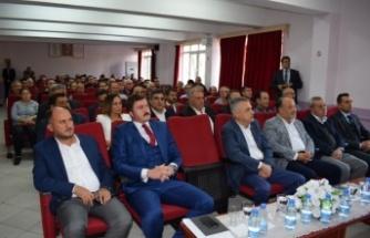 Çine'de, KOSGEB Yeni Destek Paketleri Bilgilendirme Toplantısı