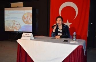 Çine'de Öğrencilere 'Cumhuriyet ve Atatürk' Konferansı