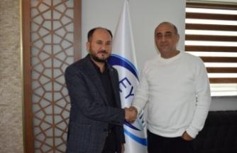 AK Parti İlçe Başkanı Tosun, Demir'i Ziyaret Etti