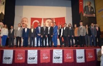 CHP Çine İlçe' de Şahin, 4. Dönem Başkan Seçildi