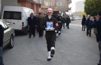 Çine'de Kore Gazisi Askeri Törenle Uğurlandı